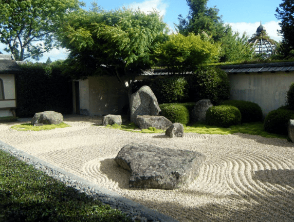 Come creare un giardino giapponese o zen a casa tua for Aiuola zen