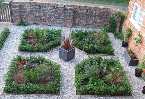 Consigli utili per realizzare dei giardini di piccole for Progetto aiuole per giardino